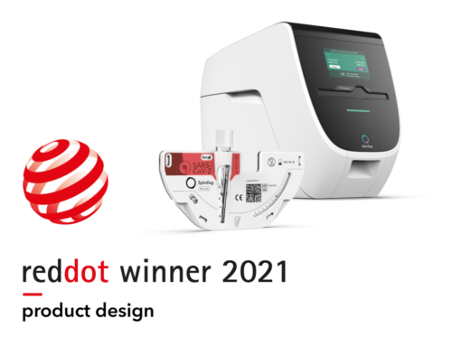 Spindiag wins Red Dot for high design quality